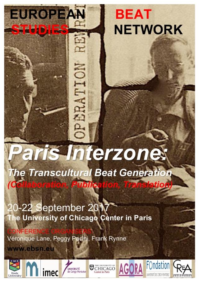 2017 Conference, Paris, France   European Beat Studies Network